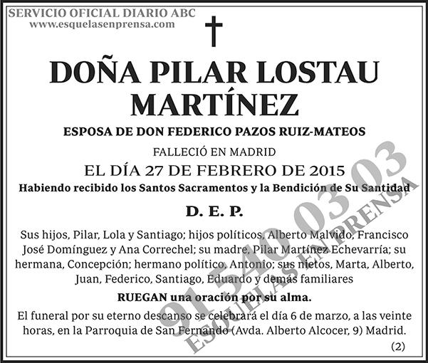 Pilar Lostau Martínez
